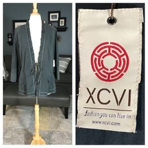 New XCVI Lightweight Coat/ Blazer